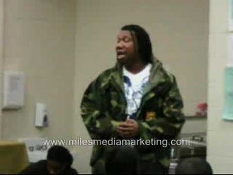 KRS 1 speaks a message of Hope to Chicago's Youth