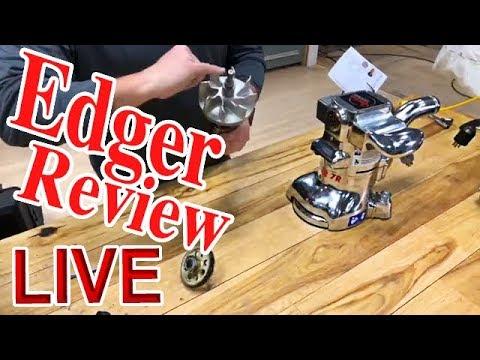 Edger Review For Hardwood Floor Sanding LIVE   Lagler Flip, B2, Super 7R, RS100