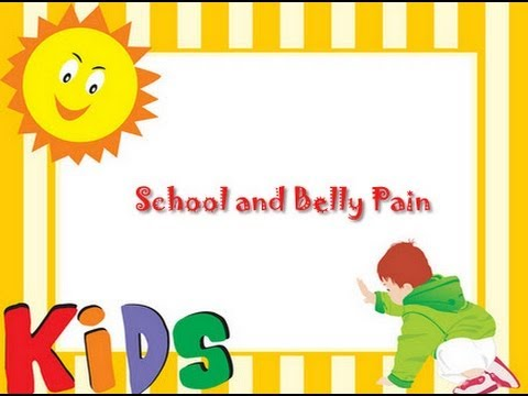 School and Belly Pain