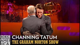 Channing Tatum Shares A Tender Dance With Graham - The Graham Norton Show