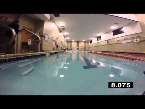 11.8 Seconds - 25 Meter Freestyle Sprint