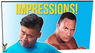 GAME OF IMPRESSIONS | What Did I Just HEAR!!