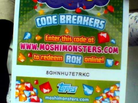 New moshi monster codes from mag #29