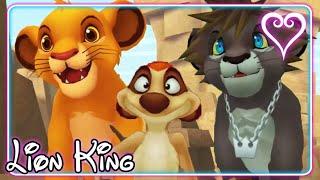 Kingdom Hearts 2 All Cutscenes | Full Movie | The Lion King ~ Pride Lands