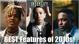 Best Rap Features of 2010s