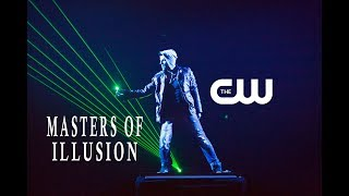 """RJ Cantu on """"Masters Of Illusions"""" """"The CW"""""""