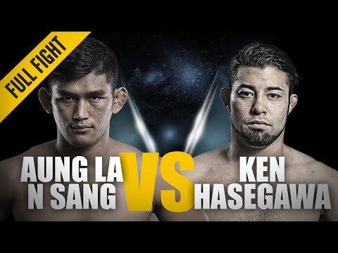 Xxx Mp4 ONE Full Fight Aung La N Sang Vs Ken Hasegawa Thunder In Thuwunna June 2018 3gp Sex