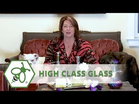 My Bud Vase...High Class Glass / One of a Kind Vases that Double as Discreet Smoking Devices