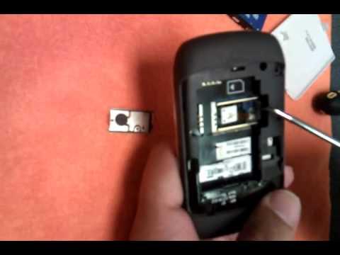 Blackberry  8520 8530 Trackpad Fix