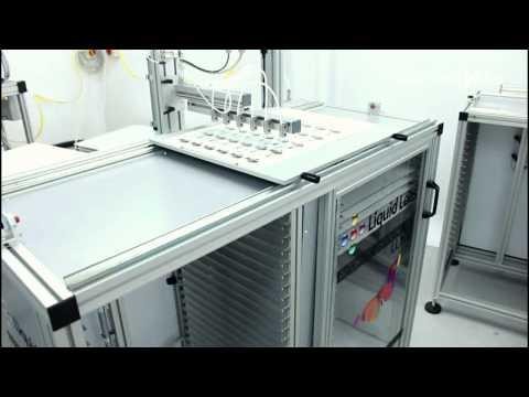 Liquid Lens Doming - Quartz Semi-Automatic Machine Demonstration