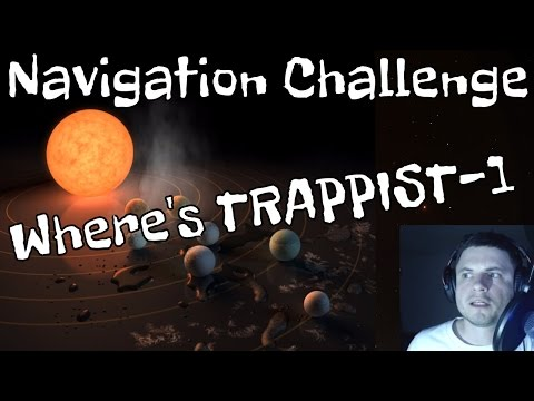 TRAPPIST-1 Navigation Challenge - Can We Find It Using Space Engine?