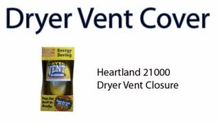 Dryer Vent Covers -- Options And Ideas