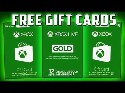 How To Get Free Xbox Gift Card And Xbox Live Gold 2018