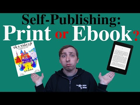 Print vs Ebook — Which is Best for Your Project?