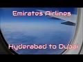 EMIRATES AIRLINE Economy Class ✈ Hyderabad to Dubai EK527 ✈ Full Flight Experience ✈