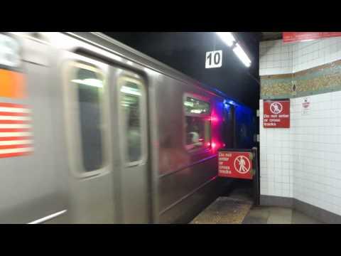 NYC Subway: Bronx bound R62(Not R62A) 1 Train leaving 34 St-Penn Station