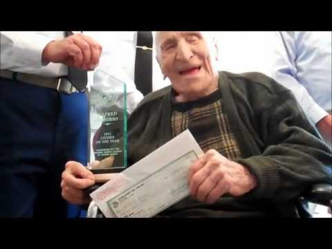 Oldest Living Marine MstSgt Alfredo DeSerio
