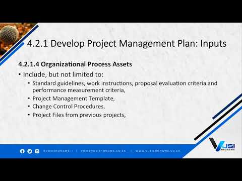 4.2 Develop Project Management Plan