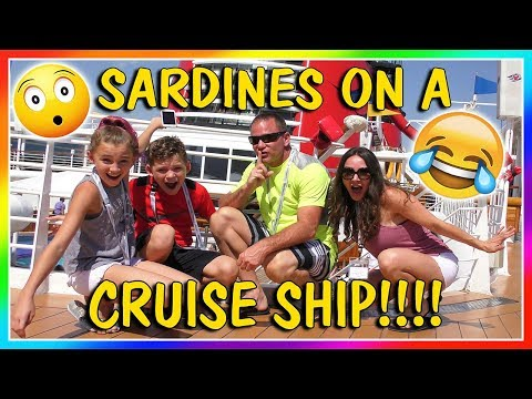 SARDINES ON A DISNEY CRUISE SHIP   HIDE AND SEEK   We Are The Davises