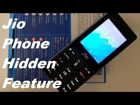 [Hindi-हिन्दी] Jio Phone Hidden Features,Tips and Tricks