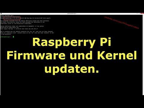 Raspberry Pi,  Betriebssystemaktualisierung.    Raspbian - Kernel 4.19