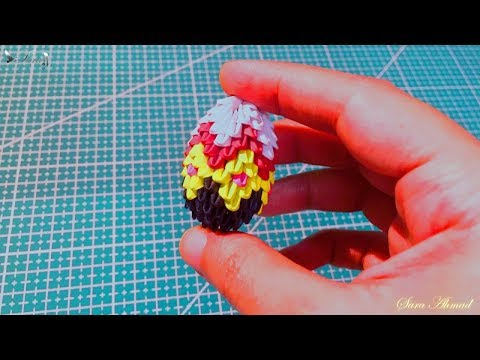 How to make 3d origami small Easter egg