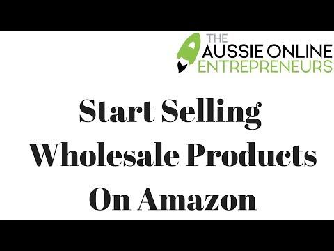 Aussie Online Entrepreneurs | Amazon FBA Australia | Start Selling Wholesale Products On Amazon