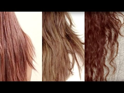 How To Find Your Hair Type - Hair Care Tips For Straight, Wavy And Curly Hair