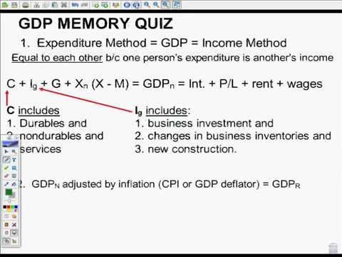GDP Pt 1