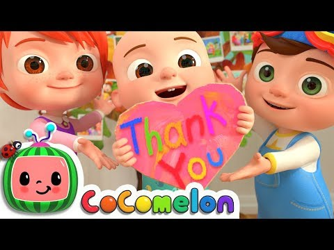 Xxx Mp4 Thank You Song CoCoMelon Nursery Rhymes Amp Kids Songs 3gp Sex