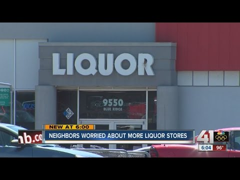 Neighbors worried about more liquor stores