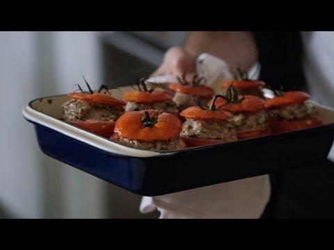 Sausage Stuffed Tomatoes
