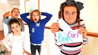 ONE OF US FINDS OUT THE GENDER OF OUR NEW BABY