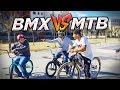 HACEMOS UN GAME OF BIKE BMX vs MTB + Carrera en un circuito de race sin pedalear!!