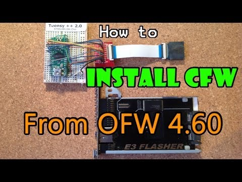 How To Install CFW from 4.60 OFW