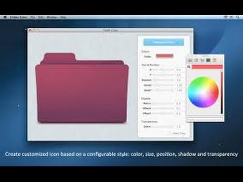 How to change Folder icon on mac siera ,mac tips and tricks ,how to change app icon on amc