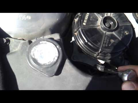 BMW E46 secondary air pump removal