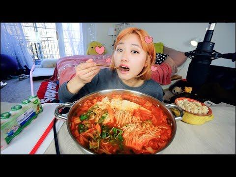 Best Pork Kimchi Stew I ever made..... Mukbang | KEEMI★