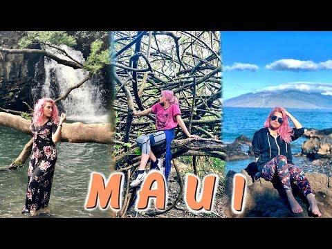 EXPLORE HAWAII MAUI WITH ME !!