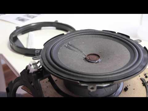Car Audio Speaker Repair