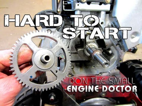 Why A Snowblower Was Hard To Start - Briggs & Stratton Engine