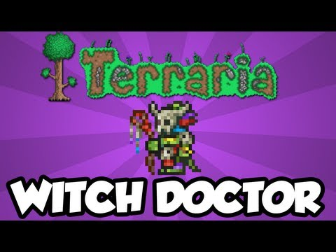 Terraria 1.2 - How To Get The Witch Doctor NPC (New Terraria 1.2 Items)