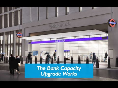 Inside the NEW Bank Tube Station