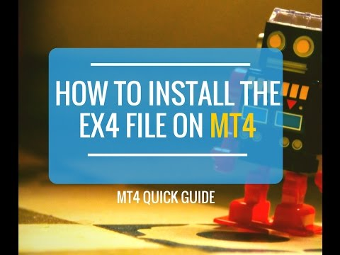 How to install the EX4 File on MT4
