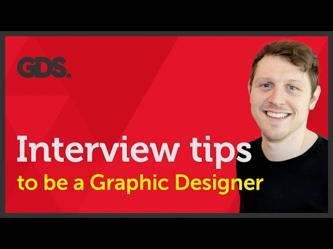 Interview tips to be a Graphic Designer? Ep42/45 [Beginners guide to Graphic Design]