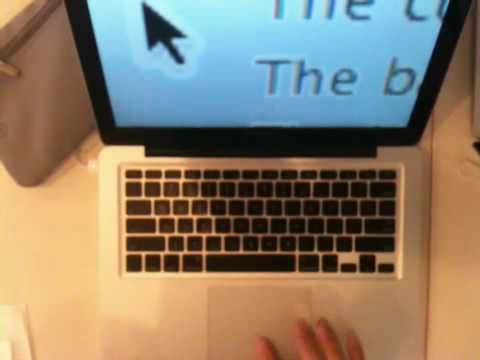 MacBook Pro touchpad doesn't work with my hand