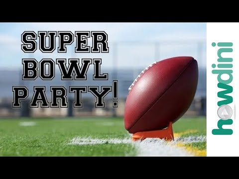 Super Bowl Party Ideas: Recipes and Party Hosting Tips | Howdini