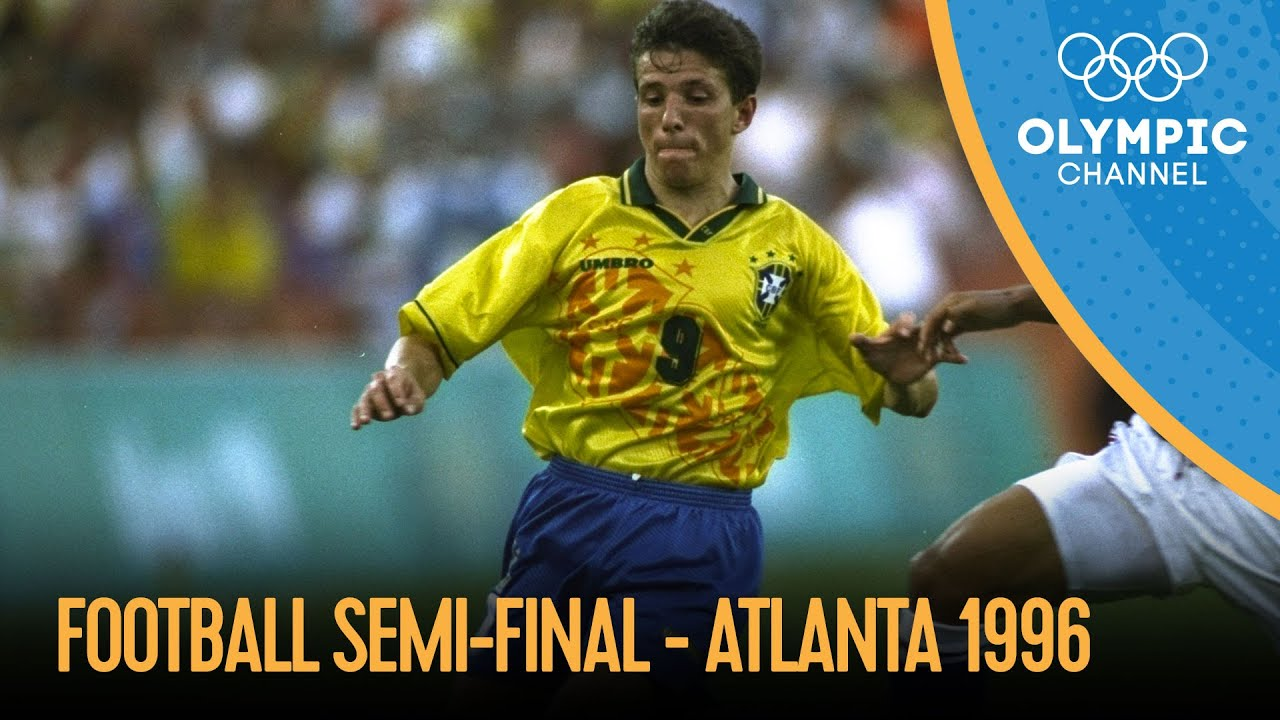 Nigeria vs Brazil - Men's Football Semi-Final Atlanta 1996 | Atlanta 1996 Replays