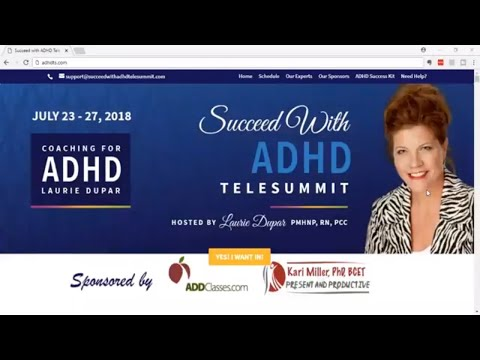 Succeed with ADHD Telesummit - 2018 Online Conference