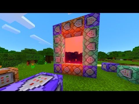 COMMAND BLOCK DIMENSION IN MCPE!? - HOW TO MAKE CUSTOM DIMENSIONS WITH COMMAND BLOCKS